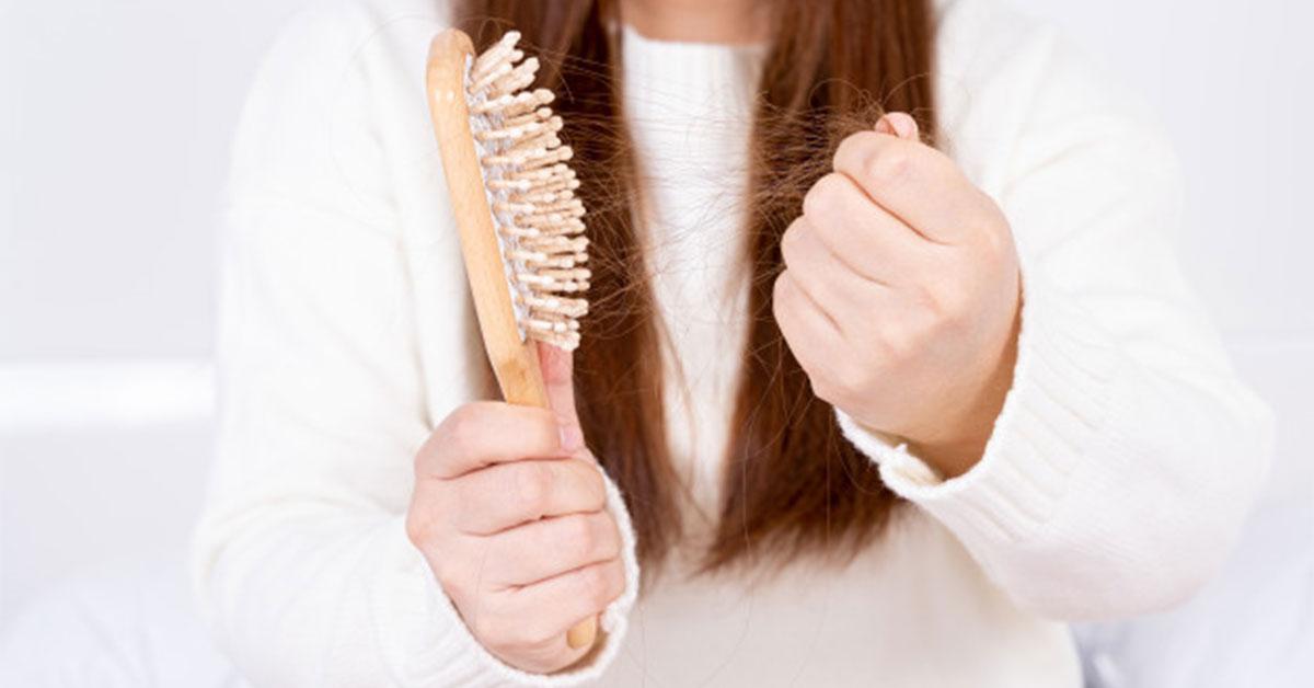 علت ریزش مو چیست؟