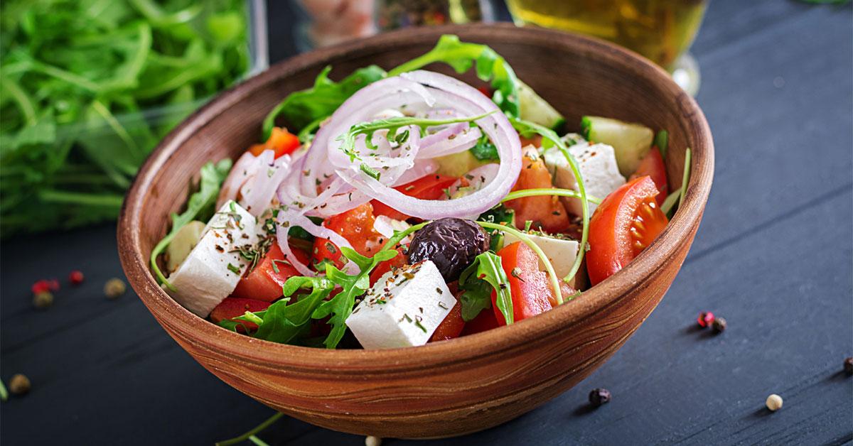 سبزیجات متنوع و رنگارنگ