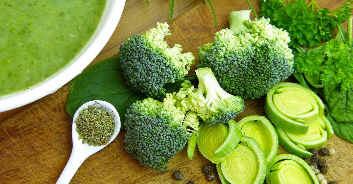 سبزیجات و سوپ سبزیجات