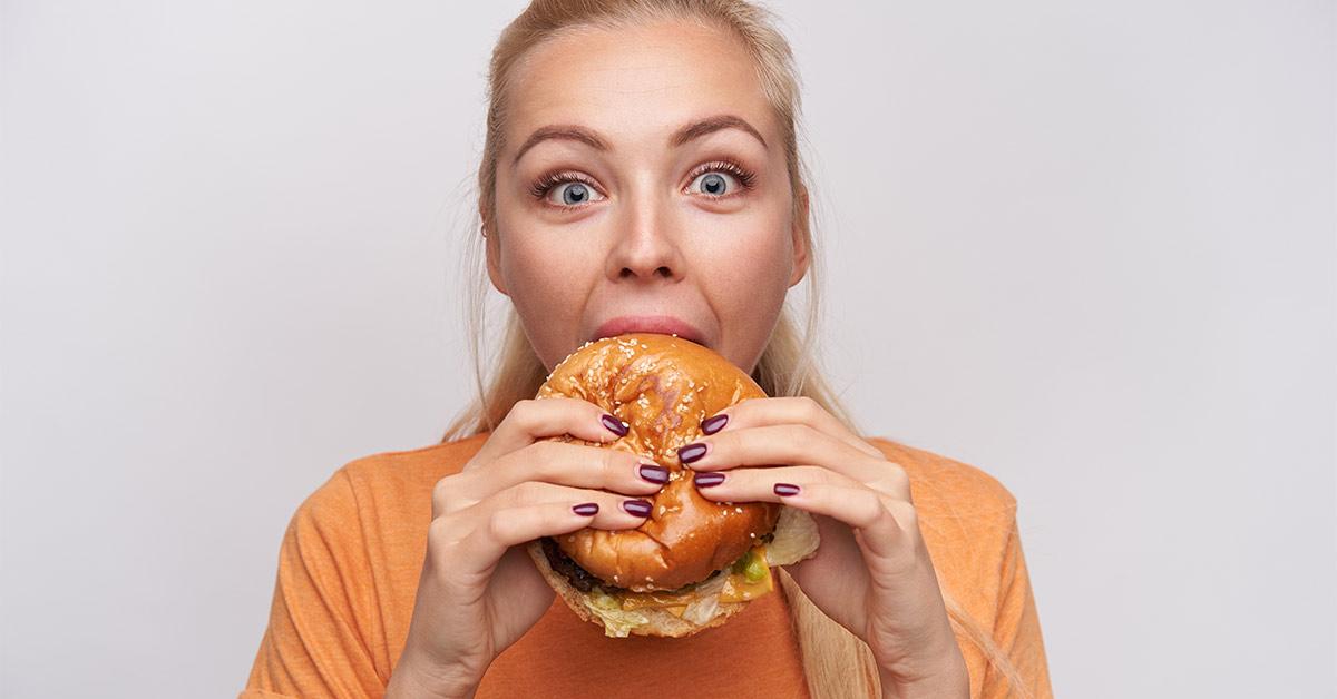 دلیل اصلی چاقی پرخوری