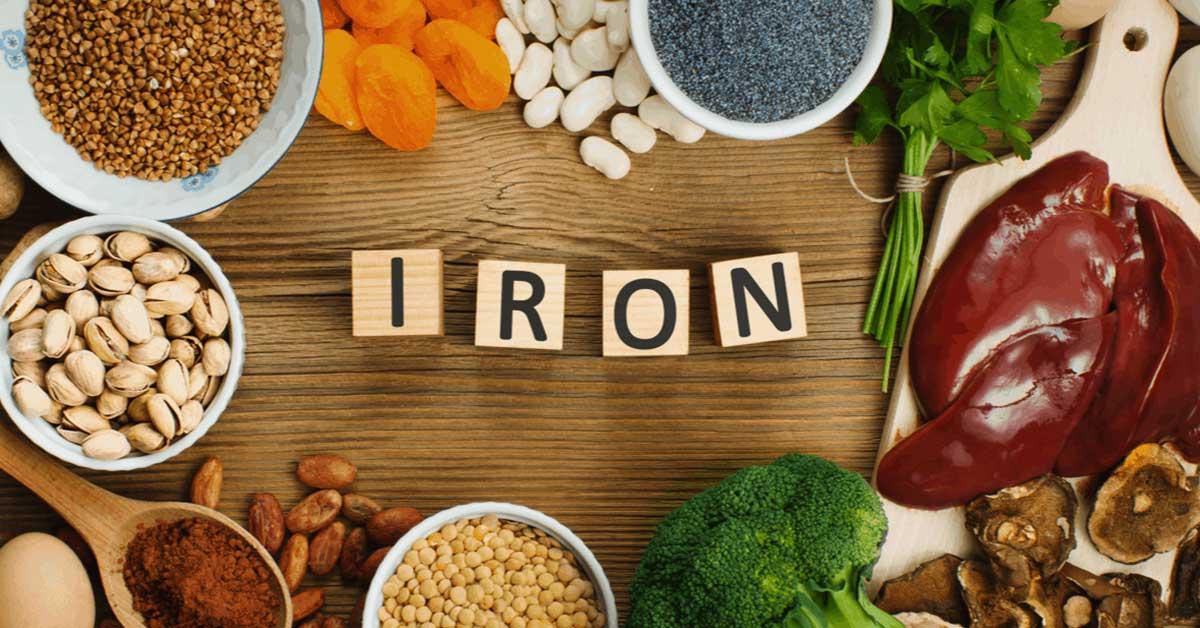 آهن مهم ترین عنصر برای رفع کم خونی