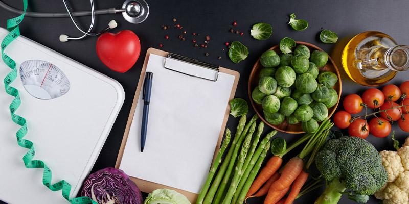 تدابیر خورد و خوراک برای لاغری