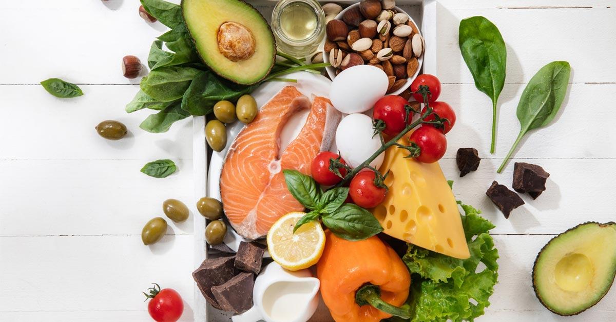 مواد غذایی تازه و سالم