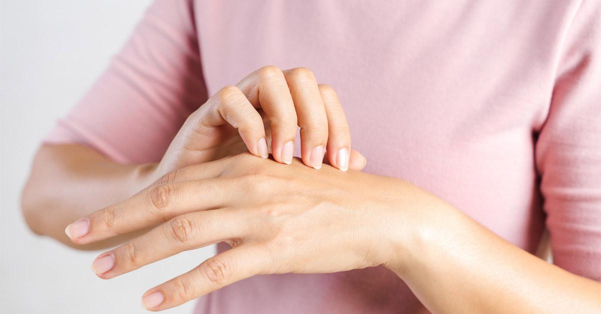 گشنیز برای اختلالات پوست