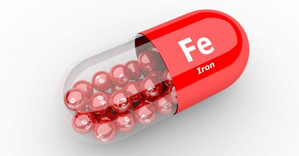 آهن در قرص فولایرون زینک