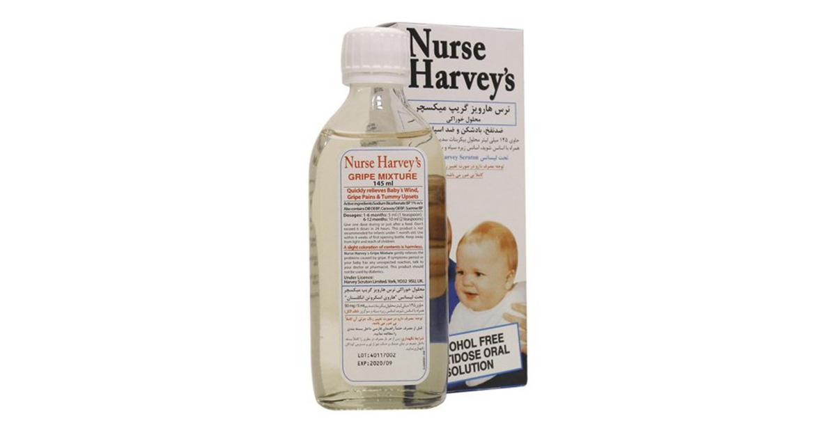 بهترین شربت ضد نفخ نوزاد